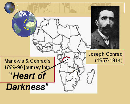 an analysis of the main characters in heart of darkness by joseph conrad Abstract: this essay argues that joseph conrad wrote heart of darkness in order  to shed light on what terrible crimes  self-knowledge as a theme in the novel.