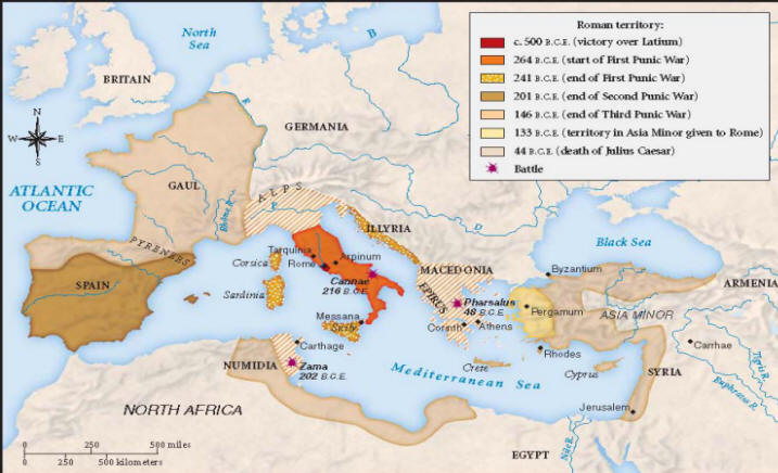 Late Roman Empire Map.Maps 2 History Ancient Period